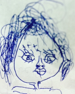 Me by the delicious 5 yr old